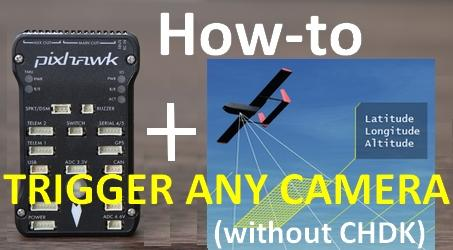 How-to guide: Pixhawk auto camera trigger (without CHDK) | Drones
